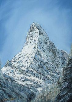 Oil painting by Nino Ponditerra Zermatt, Original Paintings, Oil Paintings, Artist Painting, Nepal, Oil On Canvas, Digital Art, In This Moment, Art Prints
