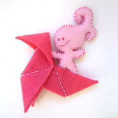 Flyfly Rosa by Niruru on Etsy, €20.00