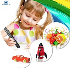 YANGHX Printing Pen with LCD Pen Drawing Printer Pen for Scribbler Printing, Drawing, Doodle Model Making and Modeling 3d Drawing Pen, 3d Pen, Stylo 3d, Sand Crafts, Best Dog Toys, 3d Printing Service, 3d Printing Technology, Kids Prints, 3d Printer