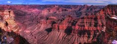 The Grand Canyon is a steep-sided canyon carved by the Colorado River in…