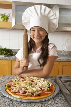 sacramento365.com | Kids and Teens in the Kitchen: Farm Pizza Party