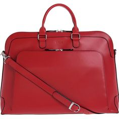 Lodis Audrey Brera Brief with Computer Compartment Laptop Ca ($318) ❤ liked on Polyvore featuring bags, briefcases, business, ladies' business y red