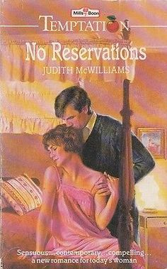No Reservations - Judith McWilliams - Mills & Boon - Acceptable - Paperback