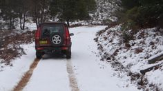 Snow Jenolan Forest, New South Wales, Land Rover Discovery 2