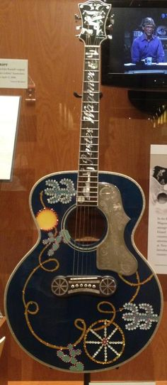 One of country star Porter Wagoner's custom guitars...