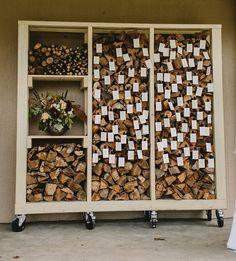 firewood escort display