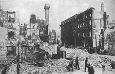 Easter Rising The majority of the rebellion and action took place within Dublin, Ireland. The main reason for the Rising was to overthrow British rule in Ireland. Irish Republican Brotherhood, Ireland 1916, Dublin Ireland, Easter Rising, Today In History, World War I, Old Pictures, Copenhagen, In This Moment