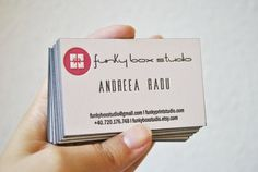 200 Custom letterpress business cards 2 ink by FunkyPrintStudio