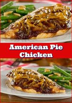 Our juicy American Pie Chicken is as American (and delicious!) as apple pie!