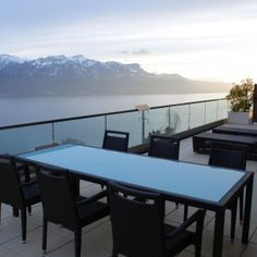 Terrace if the restaurant? No, this is the terrace of Le Mirador Suite! Yes, this is just how much space you get! Dream Hotel, Outdoor Tables, Outdoor Decor, Above The Clouds, Terrace, Rooms, Restaurant, Outdoor Furniture, Space