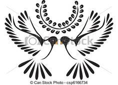 Wektor - Dove, lub, ptak, lot - zbiory ilustracji, ilustracje royalty free, zbiory ikon sztuki, zbiór ikon klipart, logo, sztuka, EPS obraz, obrazy, grafika, rysunek, rysunki, grafika wektorowa, grafika, EPS wektor sztuki