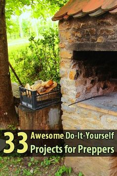 If you're a prepper who likes DIY projects, this is sure to keep you busy. Survival Sherpa compiled 33 awesome do-it-yourself projects all in one post. Source by urbanalan Survival Project, Survival Food, Homestead Survival, Camping Survival, Outdoor Survival, Survival Prepping, Survival Skills, Survival Hacks, Emergency Preparedness