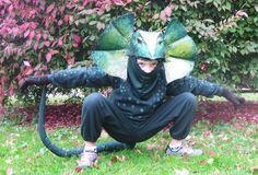lizard costume diy - Google Search