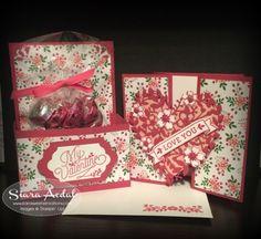 Siara Sweet Sensations: Stampin' Friends Lot's of Love Blog Hop