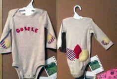 Gobble Turkey Onesie - 6mo. $16.00, via Etsy.
