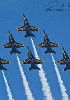 U.S. Navy Blue Angels. These pilots are asshole in person. I hated working with them.