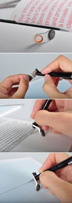 "AWESOME….SO MANY USES. scodal: "" The simplest tool to help you draw a straight line. I am blown away. I would really like to have this just because. illiyana: "" onehappy-family: "" aishahrosely: ""..."