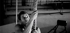 Marlon Brando working out in The Men (1950)