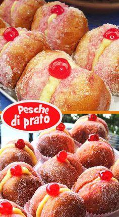 Breakfast Ring, Italian Breakfast, Burritos, Ring Cake, Sweet Peach, Chiffon Cake, English Food, How To Make Bread, Italian Recipes