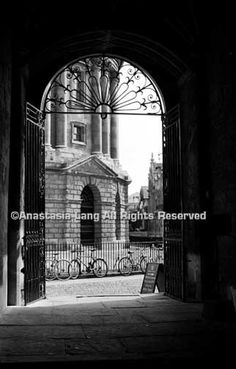 Oxford Archway, Oxford, England - Fine Art Photograph 4 of 100. $25.00, via Etsy.