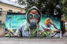 By @welinoo in Copenhagen (http://globalstreetart.com/welin) #globalstreetart…
