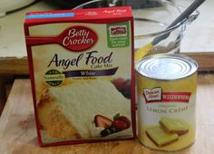 Angel food berry cake 2 ingredients mix together 1 angel food cake 2 ingredient lemon bars forumfinder Gallery