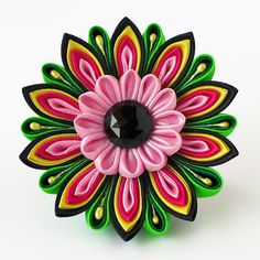 Important Trifles. Flower magnet