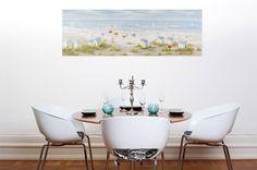 Acryl Gemälde 'Brise der Nordseeluft' 150x50cm