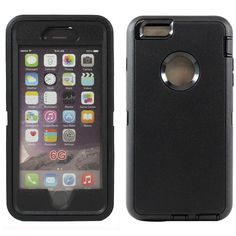 iPhone 6 4.7 Premium Armor Defender Case with Clip(black)