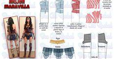 Disfraz Wonder Woman, Wonder Woman Cosplay, Costume Tutorial, Disney Cosplay, Marvel Girls, Amazing Cosplay, College Girls, Burlesque, Clothing Patterns