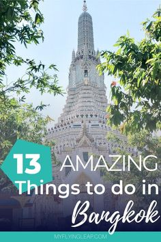 Two days isn't a lot of time to see the amazing city of Bangkok. Here is the best 2-day itinerary in Bangkok so you can see the best the city has to offer. Where to go | Where to stay | Where to eat #bangkok #bangkokthailand #bangkoktravel #bangkokthingstodo #bangkokthailandthingstodo Bangkok Shopping, Bangkok Travel, Asia Travel, Thailand Destinations, Thailand Travel Tips, Travel Destinations, Bangkok Itinerary, All Continents, Backpacking Asia