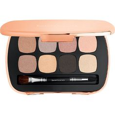 This bareMinerals READY Eyeshadow provides vivid, pigment-packed color with seamless blendability that lasts up to 12 hours. Powered by bareMinerals proprietary SeaNutritive Mineral Complex, it delivers skin-nourishing benefits including reduced appearance of fine lines, wrinkles and puffiness.