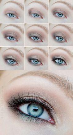 Eye Makeup Maquillage Yeux how to: - Pretty Makeup, Love Makeup, Makeup Inspo, Makeup Inspiration, Makeup Tips, Makeup Looks, Makeup Ideas, Makeup Geek, Edgy Makeup