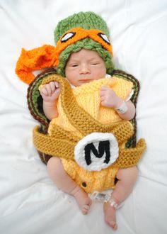 Traje de tortuga Ninja de Halloween sombrero y por MimiLaCreations