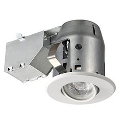Commercial electric 3 in white led recessed baffle kit white lead 3 dimmable downlight swivel spotlight recessed lighting httpswww aloadofball Image collections