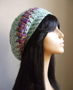 Pretty Crochet Women Slouchy Hat SPECIAL by LuvHandmadeXoXo