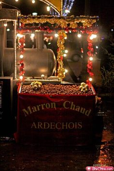 Christmas in Paris, Chestnut Vendor