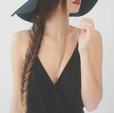 #fishtail #braid #ombre #hair