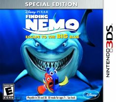 Finding Nemo Escape to the Big Blue Special Edition  Nintendo 3DS -- Visit the image link more details. Note:It is Affiliate Link to Amazon.