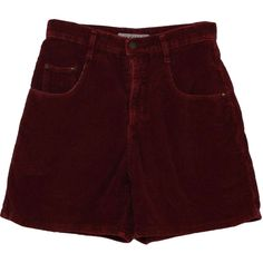 Made in the Shade 90's Vintage Shorts: 90s -Made in the Shade- Womens... (455 MXN) ❤ liked on Polyvore featuring shorts, bottoms, pants, short, high waisted short shorts, high waisted corduroy shorts, short cotton shorts, vintage short shorts and high rise shorts