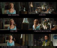 """Escena de la película """"Cenicienta"""" (2015) <3 <3 <3"""