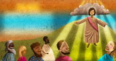 Illustration for The Children of God Bible  by Desmond Tutu published by Lux Verbi in 2010