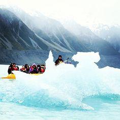 Exploring New Zealand's Haupapa/Tasman Glacier