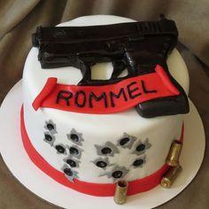 Glock gun bullets adult birthday