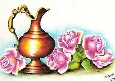 Art'sanália: Mais flores com objetos!!