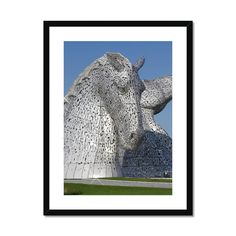 the Kelpies 1121, the Helix , Falkirk , Scotland Framed & Mounted Prin – Photogold Scottish gifts Clydesdale Horses, Scottish Gifts, Original Image, Fine Art Paper, Scotland, Sculptures, Photo Gifts, Frame, Shop