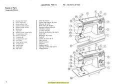 Kenmore 158.16800 Sewing Machine Instruction Manual
