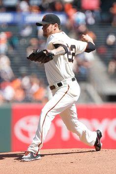 San Francisco Giants Jake Peavy
