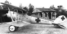 From Wikiwand: Pfalz D.IIIa (serial 8413/17) flown by Oberleutnant Walter Ewers of Jasta 77b. The aircraft displays hastily applied Balkenkreuz markings