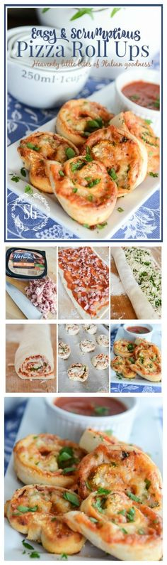 PIZZA ROLL UPS-Easy, delicious little bites of pizza heaven #HillshireFarmNaturals #ad @HillshireFarm